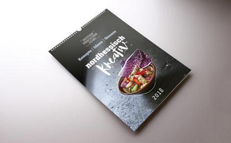 Kalender mit Wire-O Bindung
